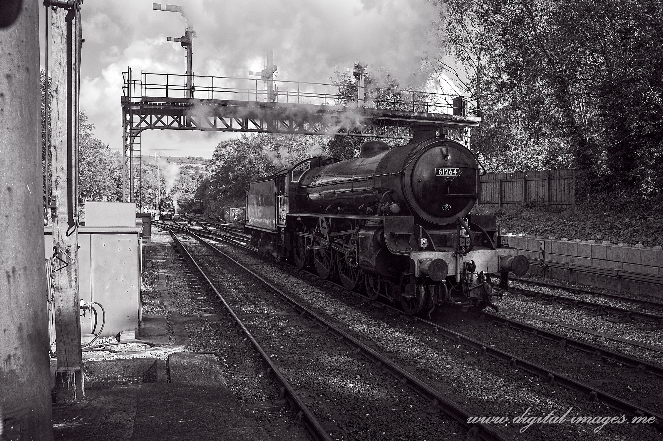 Steamers at Grosmont, NYMR