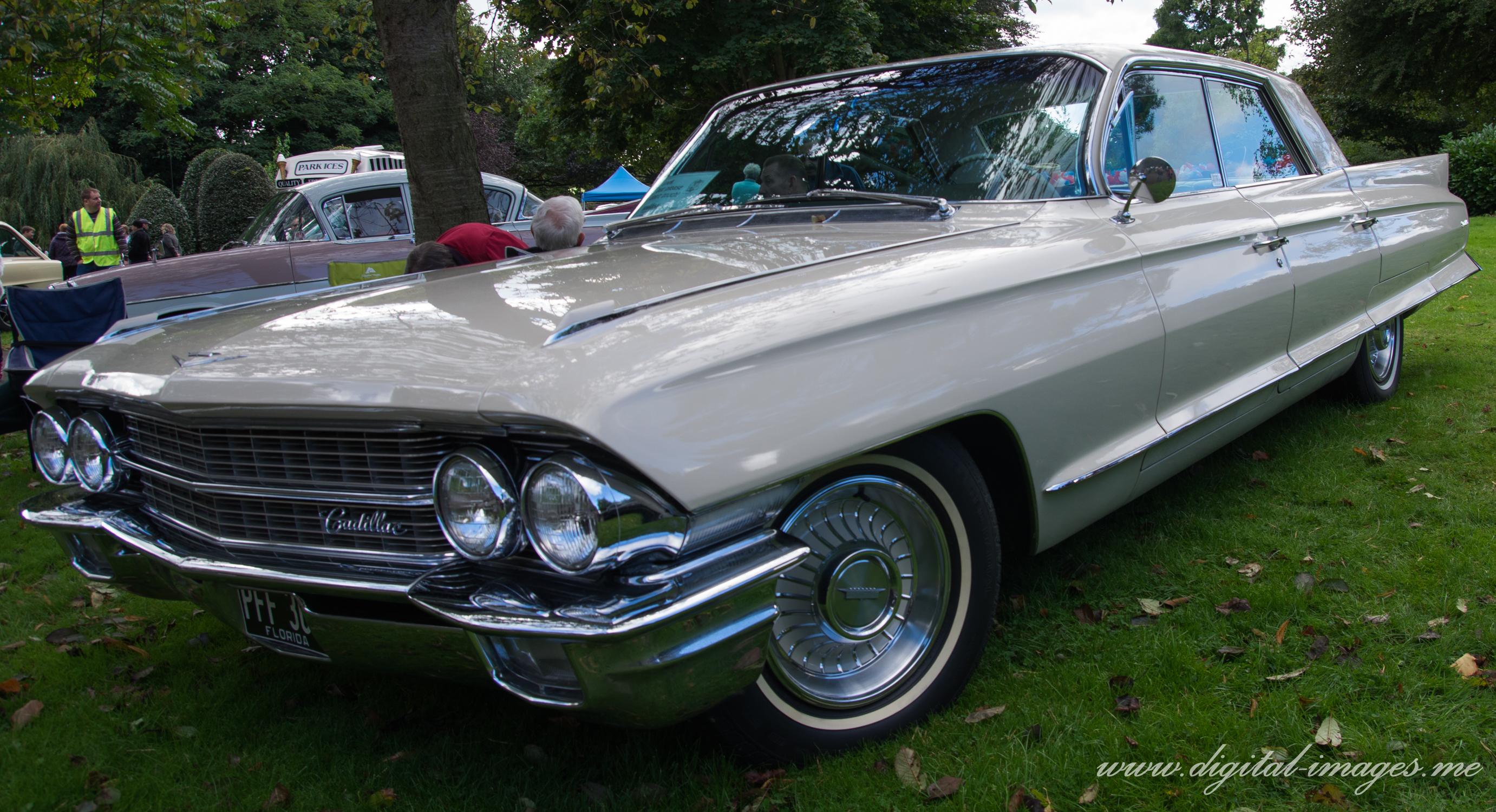 Cadillac at a Car Show