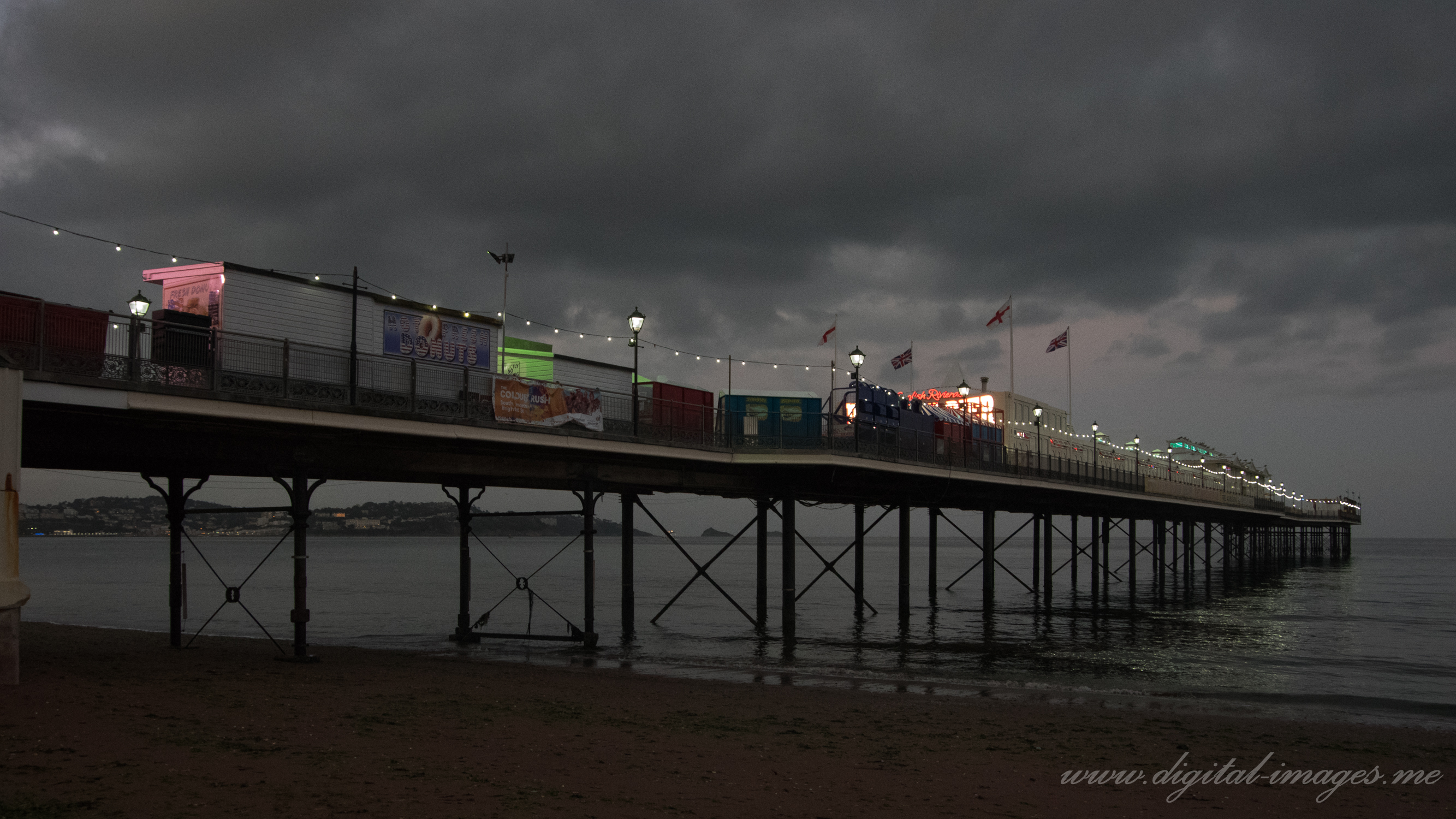 Pier in the Early Evening