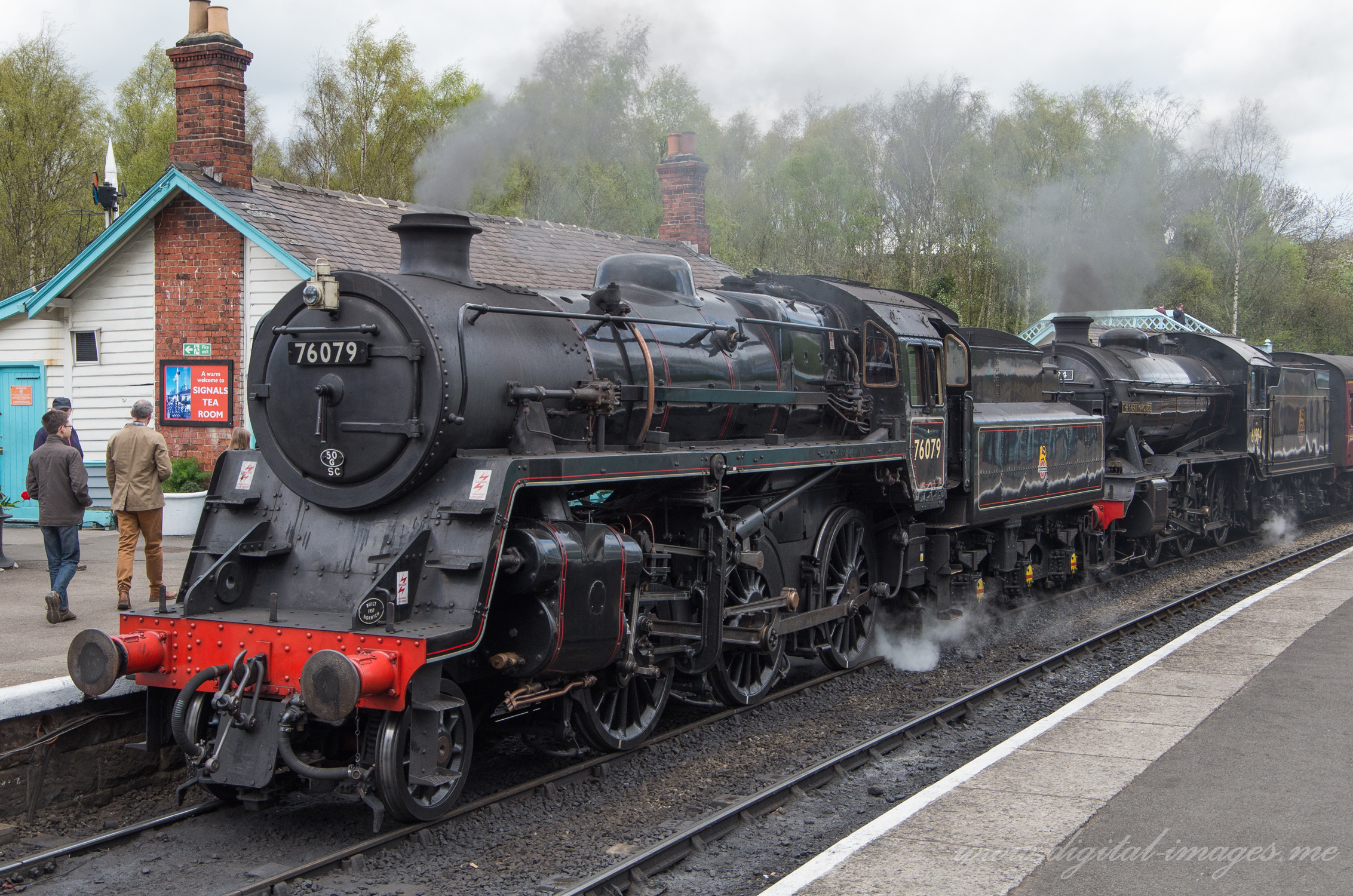 Double Header at Grosmont