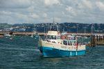 2016, Alan Baseley, Boat, Brixham, Digital Images, Ferry, Harbour, Sea, Torbay, Western Lady